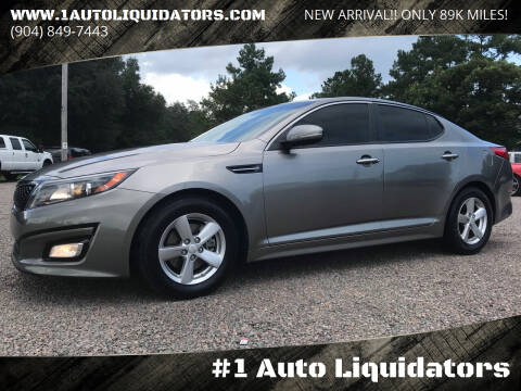 2015 Kia Optima for sale at #1 Auto Liquidators in Yulee FL