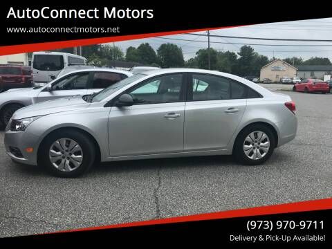 2014 Chevrolet Cruze for sale at AutoConnect Motors in Kenvil NJ