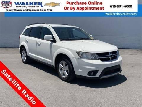 2012 Dodge Journey for sale at WALKER CHEVROLET in Franklin TN