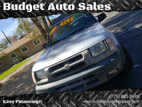 2000 Nissan Xterra for sale at Budget Auto Sales in Carson City NV