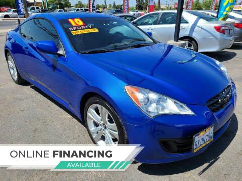2010 Hyundai Genesis Coupe for sale at Super Cars Sales Inc #1 - Super Auto Sales Inc #2 in Modesto CA