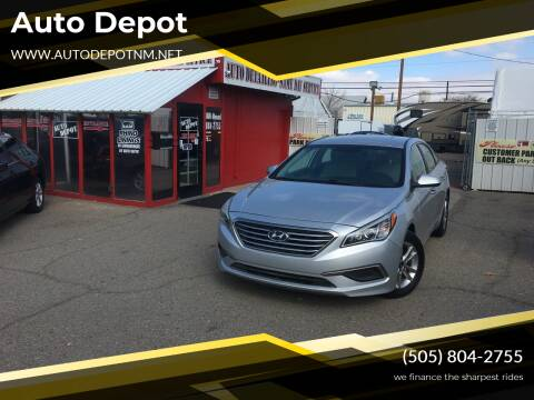 2016 Hyundai Sonata for sale at Auto Depot in Albuquerque NM