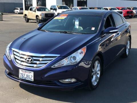 2013 Hyundai Sonata for sale at Dow Lewis Motors in Yuba City CA