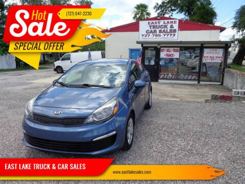 2016 Kia Rio for sale at EAST LAKE TRUCK & CAR SALES in Holiday FL
