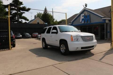 2010 GMC Yukon for sale at F & M AUTO SALES in Detroit MI