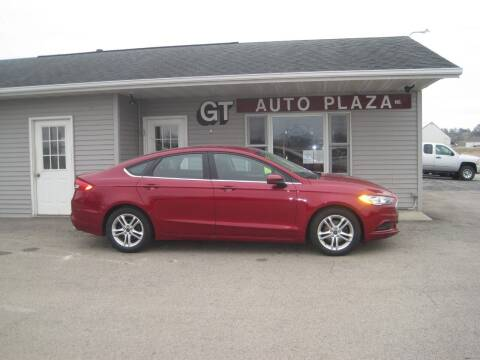 2018 Ford Fusion for sale at G T AUTO PLAZA Inc in Pearl City IL