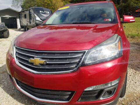 2014 Chevrolet Traverse for sale at W V Auto & Powersports Sales in Cross Lanes WV