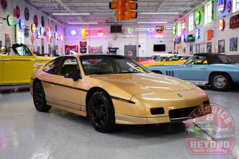 1987 Pontiac Fiero for sale at Classics and Beyond Auto Gallery in Wayne MI