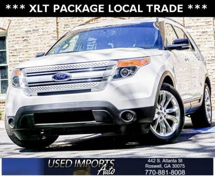 2012 Ford Explorer for sale at Used Imports Auto in Roswell GA