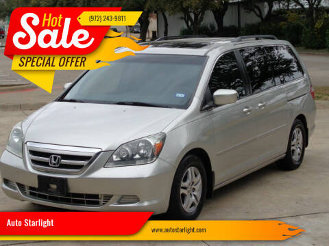 2005 Honda Odyssey for sale at Auto Starlight in Dallas TX