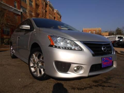 2015 Nissan Sentra for sale at H & R Auto in Arlington VA
