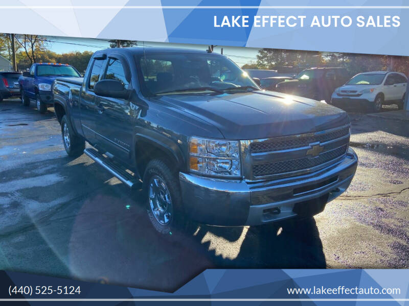 2013 Chevrolet Silverado 1500 for sale at Lake Effect Auto Sales in Chardon OH