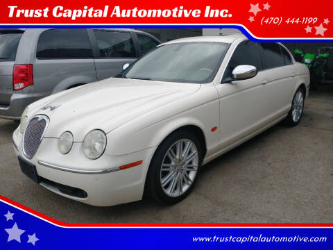 2007 Jaguar S-Type for sale at Trust Capital Automotive Inc. in Covington GA