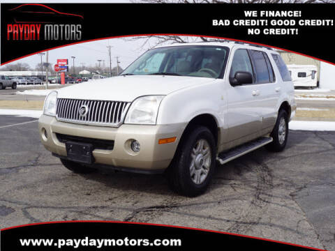 2005 Mercury Mountaineer for sale at Payday Motors in Wichita And Topeka KS