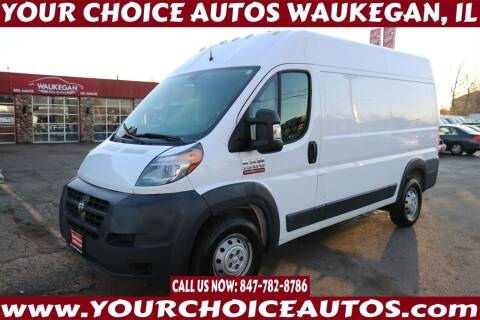 2018 RAM ProMaster Cargo for sale at Your Choice Autos - Waukegan in Waukegan IL