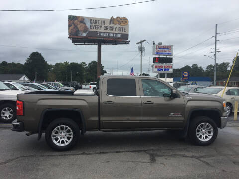 2015 GMC Sierra 1500 for sale at Deckers Auto Sales Inc in Fayetteville NC