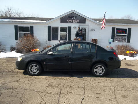 2005 Saturn Ion for sale at R & L AUTO SALES in Mattawan MI