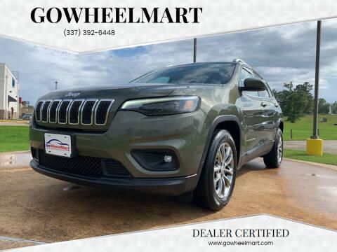 2019 Jeep Cherokee for sale at GOWHEELMART in Leesville LA