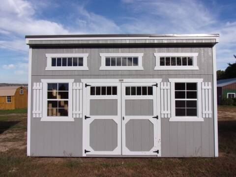 10 x 16 studio shed for sale at Extra Sharp Autos in Montello WI
