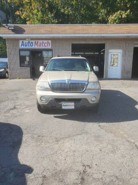2005 Lincoln Aviator for sale at Auto Match in Waterbury CT