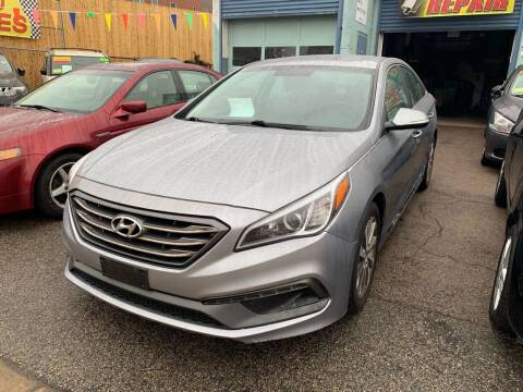 2015 Hyundai Sonata for sale at Polonia Auto Sales and Service in Hyde Park MA