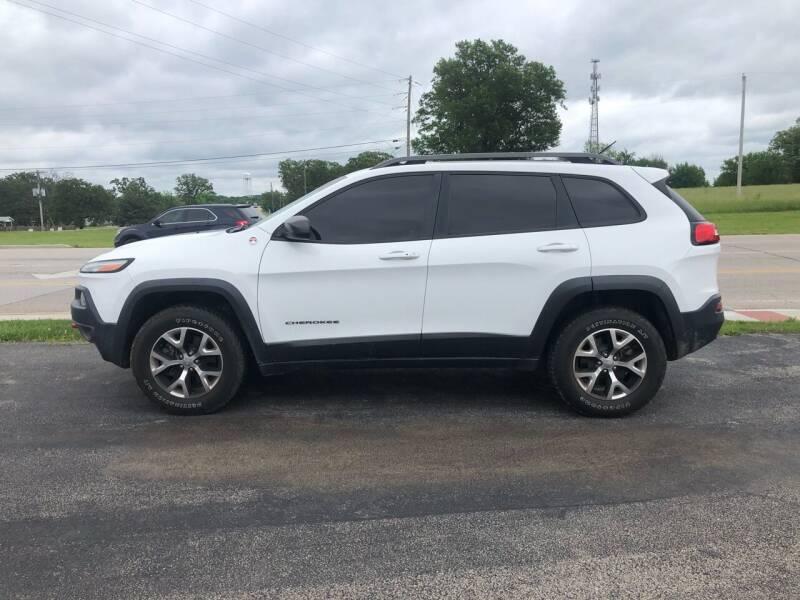 2015 Jeep Cherokee for sale at Village Motors in Sullivan MO