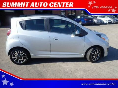 2014 Chevrolet Spark for sale at SUMMIT AUTO CENTER in Summit IL