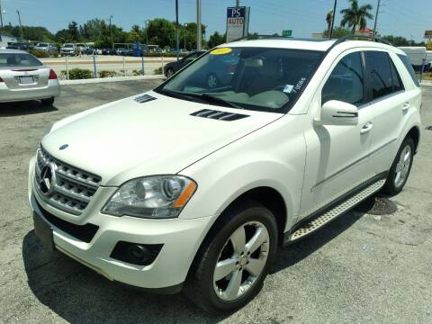 2011 Mercedes-Benz M-Class for sale at P S AUTO ENTERPRISES INC in Miramar FL