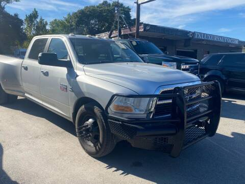 2011 RAM Ram Pickup 3500 for sale at Texas Luxury Auto in Houston TX