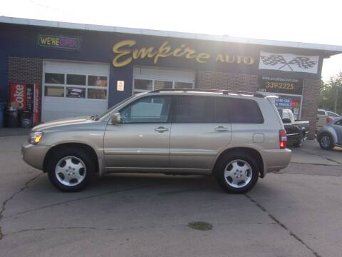 2005 Toyota Highlander for sale at Empire Auto Sales in Sioux Falls SD