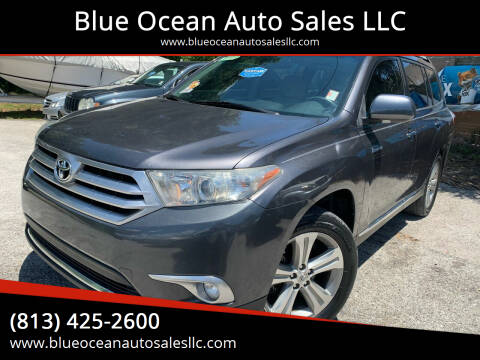 2012 Toyota Highlander for sale at Blue Ocean Auto Sales LLC in Tampa FL