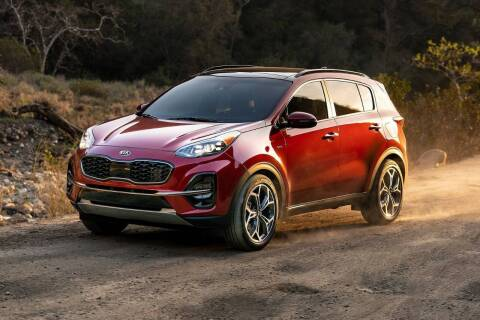 2021 Kia Sportage for sale at Diamante Leasing in Brooklyn NY