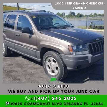 2000 Jeep Grand Cherokee for sale at Orlando Auto Sales Recycling in Orlando FL