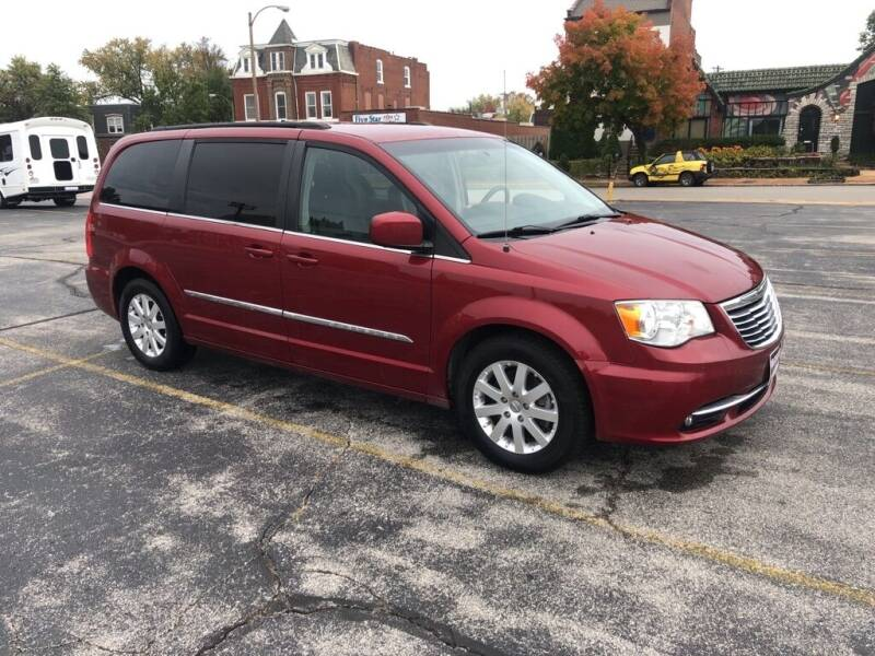 2014 Chrysler Town and Country for sale at DC Auto Sales Inc in Saint Louis MO