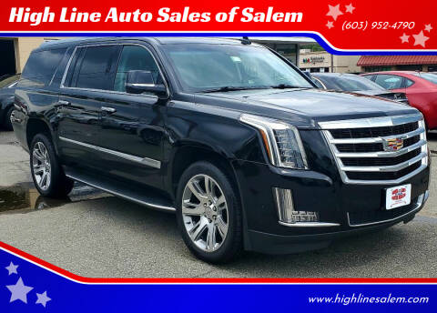 2018 Cadillac Escalade ESV for sale at High Line Auto Sales of Salem in Salem NH