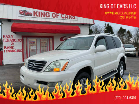 2004 Lexus GX 470 for sale at King of Cars LLC in Bowling Green KY