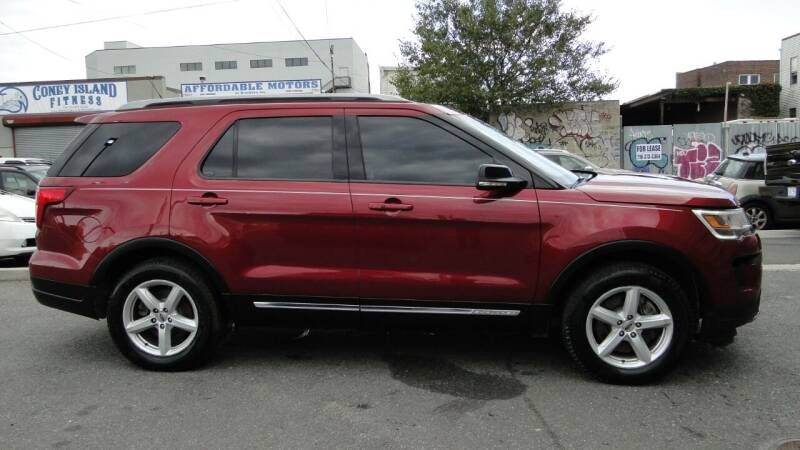 2018 Ford Explorer for sale at AFFORDABLE MOTORS OF BROOKLYN in Brooklyn NY