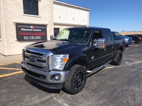 2013 Ford F-250 Super Duty for sale at Diamond Motors in Pecatonica IL