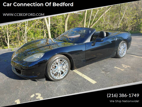 2008 Chevrolet Corvette for sale at Car Connection of Bedford in Bedford OH