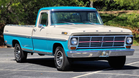 1969 Ford F-100 for sale at Rare Exotic Vehicles in Weaverville NC