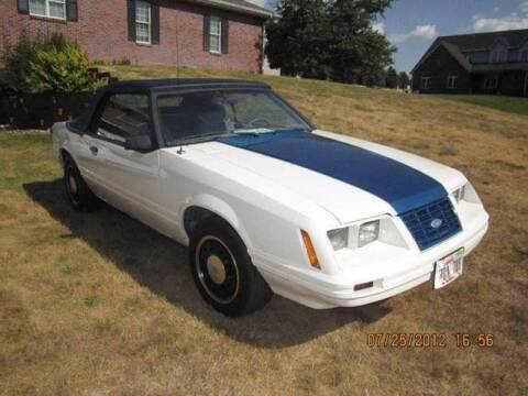 1983 Ford Mustang for sale at Wayne Johnson Private Collection in Shenandoah IA