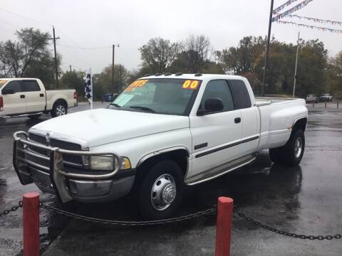 2000 Dodge Ram Pickup 3500 for sale at D & J AUTO SALES in Joplin MO
