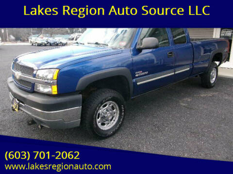 2003 Chevrolet Silverado 2500HD for sale at Lakes Region Auto Source LLC in New Durham NH