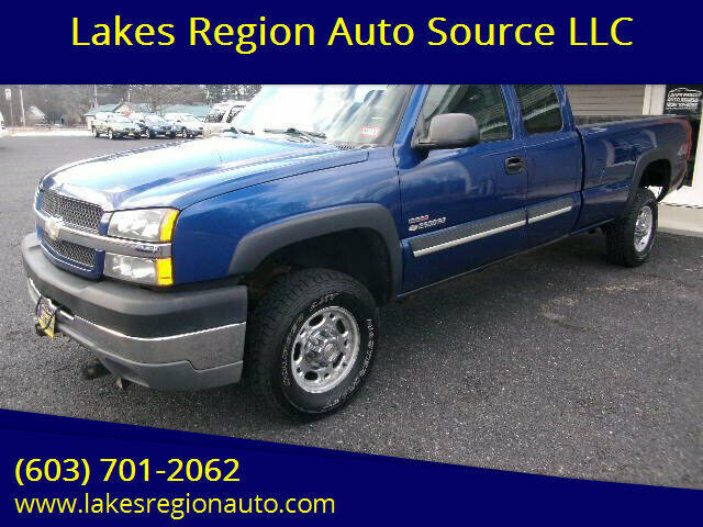 2003 Chevrolet Silverado 2500HD for sale at Lakes Region Auto Source LLC in New Durham NH