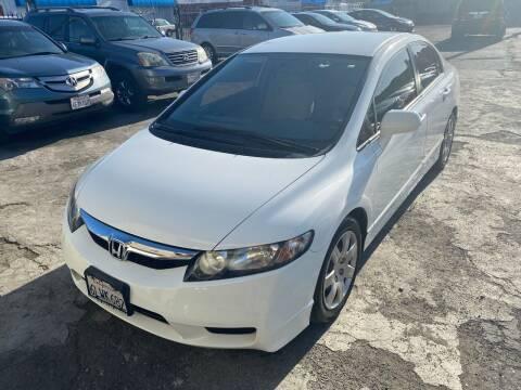 2009 Honda Civic for sale at 101 Auto Sales in Sacramento CA