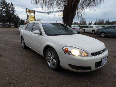 2008 Chevrolet Impala for sale at VALLEY MOTORS in Kalispell MT