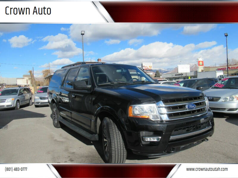 2016 Ford Expedition EL for sale at Crown Auto in South Salt Lake City UT