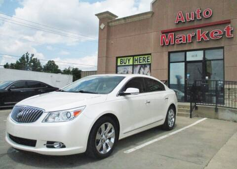 2013 Buick LaCrosse for sale at Auto Market in Oklahoma City OK