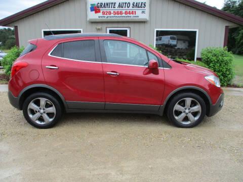 2013 Buick Encore for sale at Granite Auto Sales in Redgranite WI