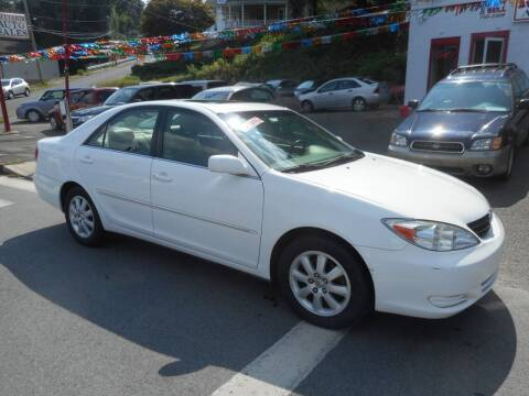 2002 Toyota Camry for sale at Ricciardi Auto Sales in Waterbury CT